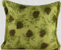 Balsam Pillow - 7x8 - Pine Cones on Beige