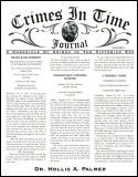 Crimes in Time Journal Volume 1 (2000)
