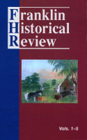 Franklin Historical Review, Collection #1, Vols. 1-5 (2005)