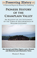Pioneer History of the Champlain Valley (1863)