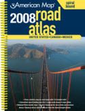 US Road Atlas - Spiral Bound - 2008